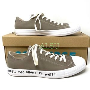 Converse Ctas Low Top Canvas Mason Taupe Men Sneak